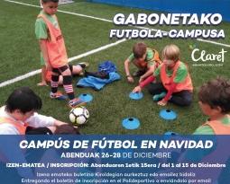 Campus de Fútbol Navidad 2018