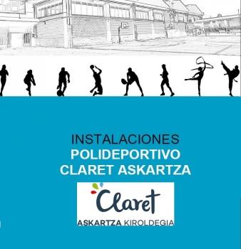 Alojamiento y Reserva de Instalaciones Deportivas en  Claret Askartza