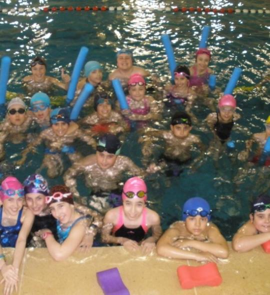 Cursos de iniciación a la natación para alumnos externos Primaria 1º y 2º