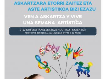 Campus Artístico de Verano en Claret Askartza (Junio 2019)