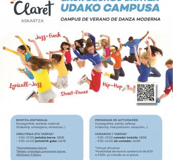 Campus de Danza Moderna en Claret Askartza  (Junio 2019)