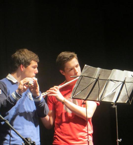 Instrumento: Flauta travesera