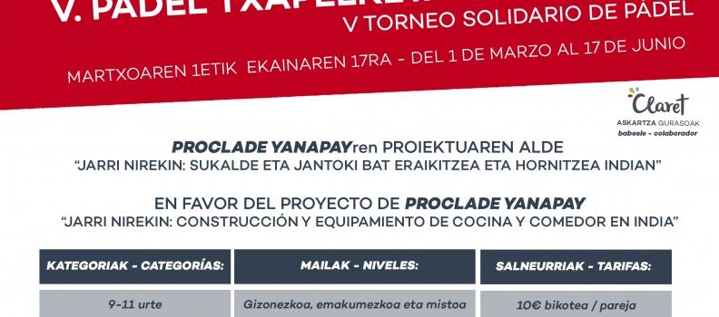 TORNEO SOLIDARIO PÁDEL ASKARTZA 2018
