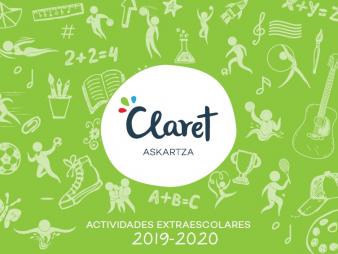 MATRICULACIÓN EN ACTIVIDADES EXTRAESCOLARES 2019-2020